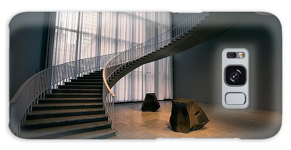 Art Institute Galaxy Case - Floating Spiral Staircase Of Chicago Art Institute by Daniel Hagerman