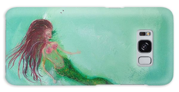 Galaxy Case - Floaty Mermaid by Roxy Rich