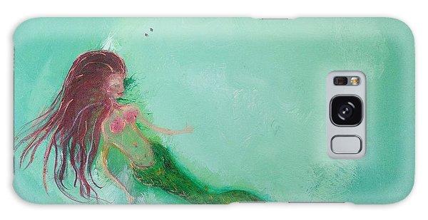 Galaxy Case - Floaty Mermaid by Roxy Rich