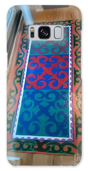 Floor Cloth Arabesque Galaxy Case by Judith Espinoza
