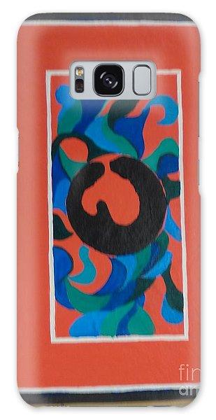 Floor Cloth E - Sold Galaxy Case