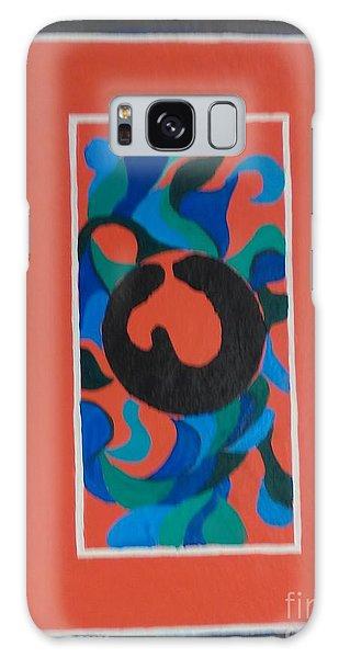 Floor Cloth E Galaxy Case by Judith Espinoza