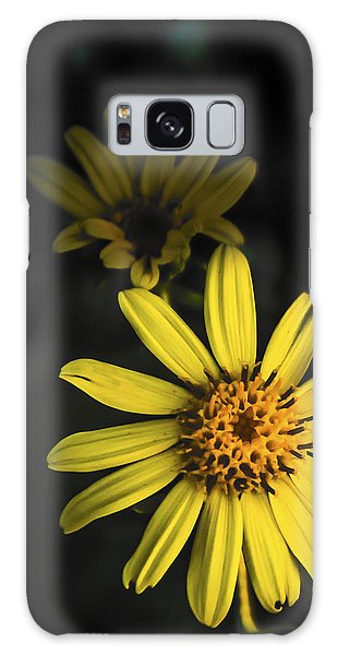 Flora In Yellow Galaxy Case