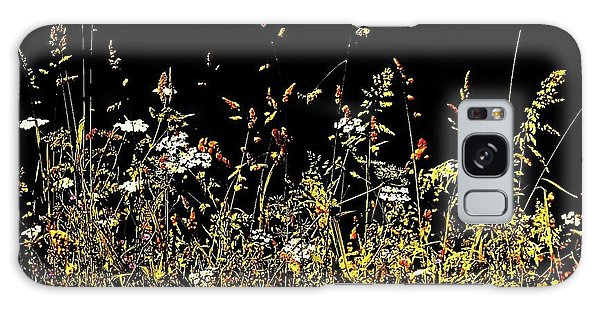 Galaxy Case featuring the photograph Flora Play II by HweeYen Ong