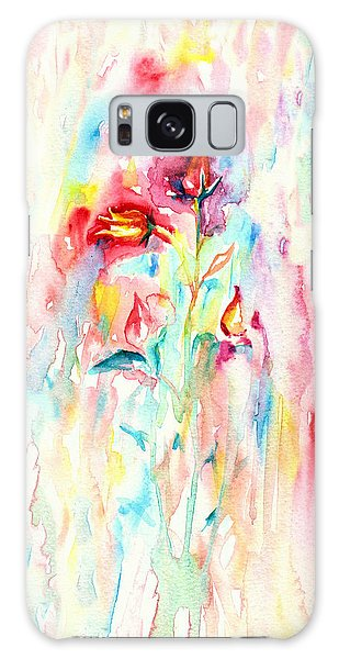 Floral Abstract Galaxy Case