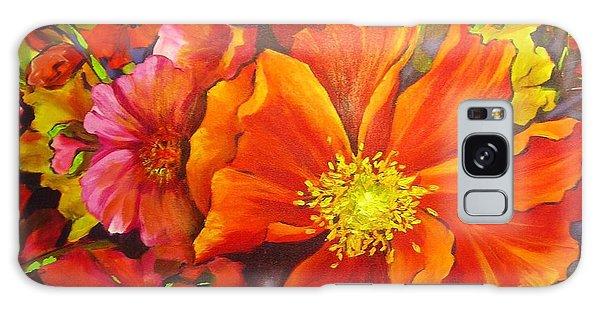 Floral Abundance Galaxy Case