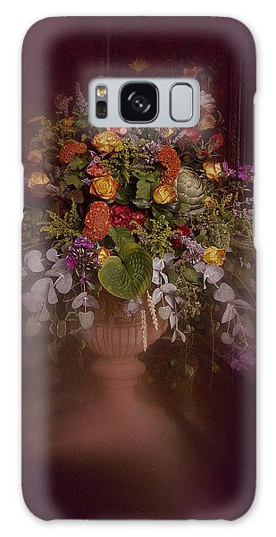 Floral Arrangement No. 2 Galaxy Case by Richard Cummings