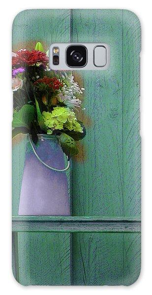 Floral Art 324 Galaxy Case