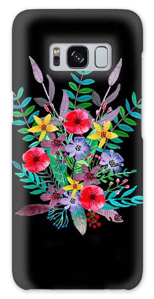 Flowers Galaxy Case - Just Flora by Amanda Lakey