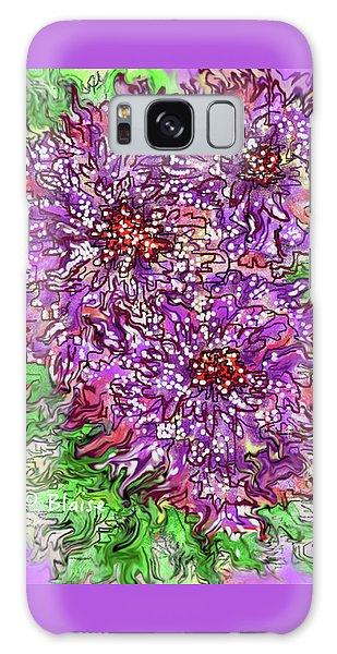 Floral Burst Galaxy Case