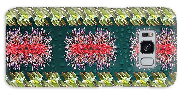 Floral Contemporary Art Galaxy Case by Gary Crockett