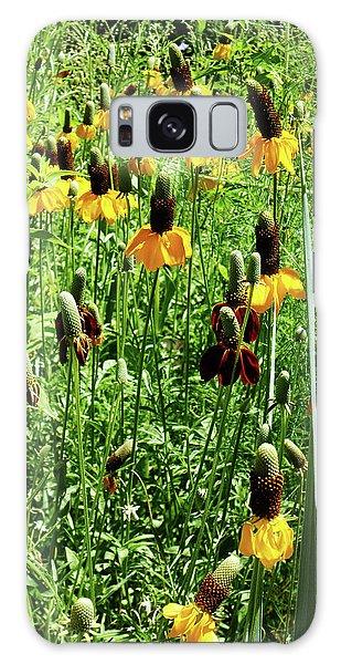Floral Galaxy Case by Cynthia Powell