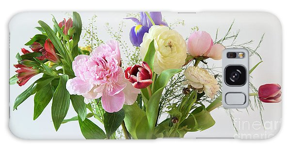 Galaxy Case featuring the photograph Floral Display by Wendy Wilton