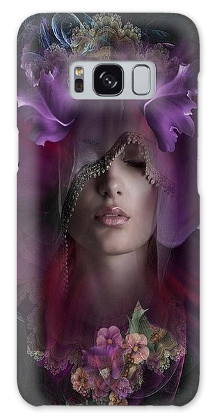 Floral Dreams Galaxy Case