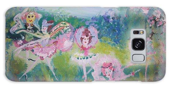 Floral Fairies Galaxy Case by Judith Desrosiers