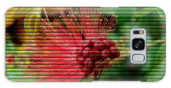 Floral Fan Galaxy Case by Sue Melvin