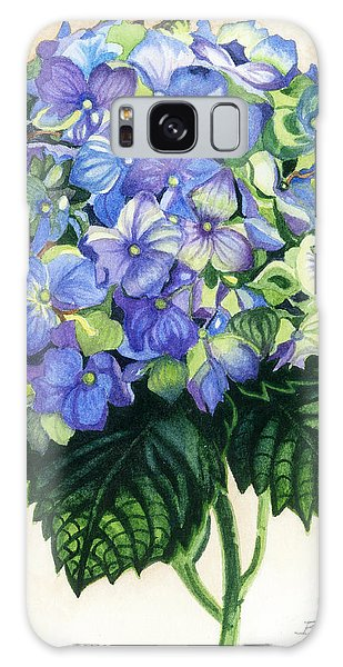 Floral Favorite Galaxy Case by Barbara Jewell