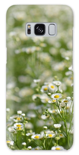 Floral Field #1 Galaxy Case