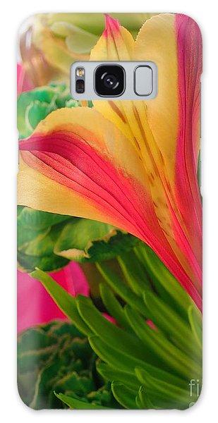 Floral Fusion Galaxy Case