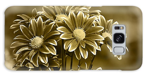 Floral Gold Collection Galaxy Case by Marvin Blaine