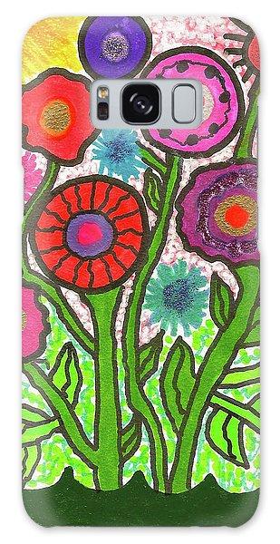 Floral Majesty Galaxy Case