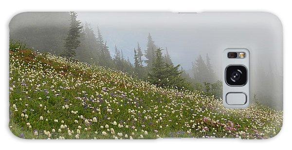 Floral Meadow Galaxy Case