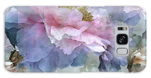 Floral Potpourri With Peonies 24 Galaxy Case