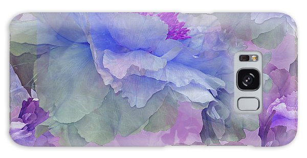 Floral Potpourri With Peonies 4 Galaxy Case