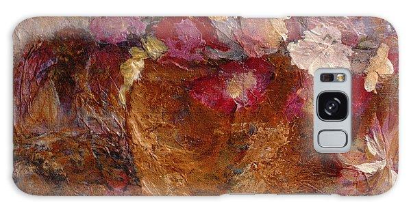 Floral Still Life Pinks Galaxy Case
