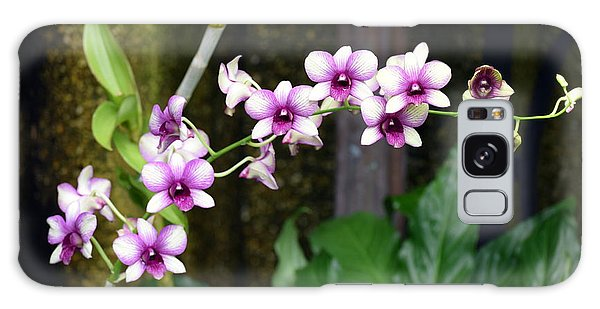 Floral Sway Galaxy Case by Deborah  Crew-Johnson