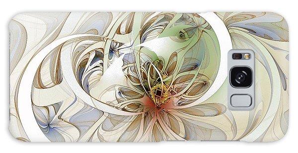 Floral Swirls Galaxy Case