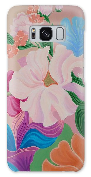 Floral Symphony Galaxy Case by Irene Hurdle
