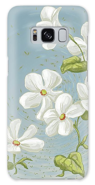 Floral Whorl Galaxy Case