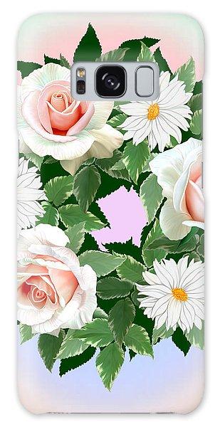 Floral Wreath Galaxy Case