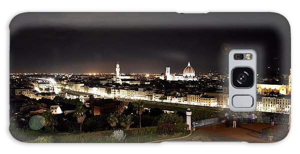 Florence At Night Galaxy Case