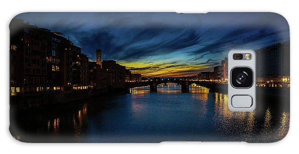 Florence At Sunset Galaxy Case