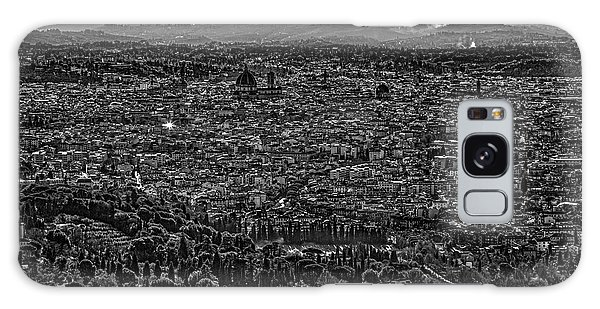 Florence From Fiesole Galaxy Case by Sonny Marcyan