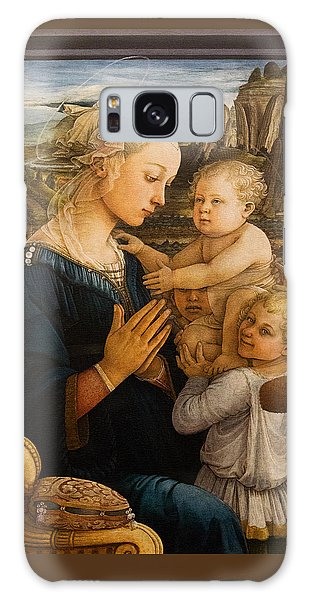 Florence - Madonna And Child With Angels- Filippo Lippi Galaxy Case