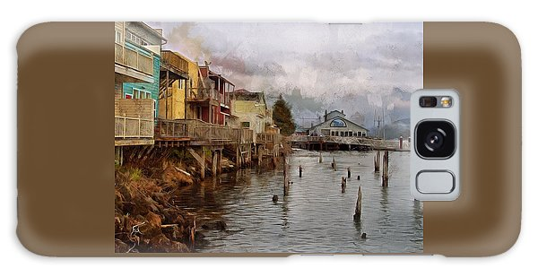 Galaxy Case featuring the photograph Scene On The Siuslaw  by Thom Zehrfeld