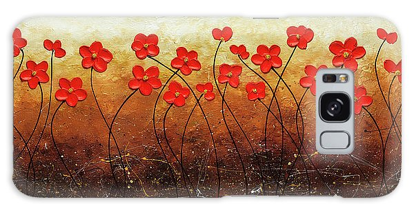 Flores De Mi Jardin Galaxy Case