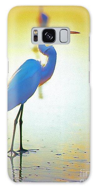 Florida Atlantic Beach Ocean Birds  Galaxy Case