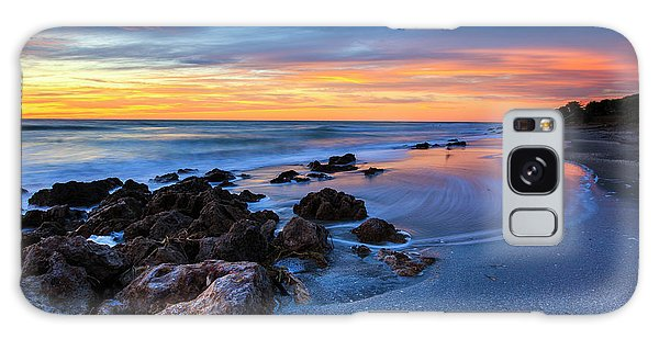 Florida Beach Sunset 3 Galaxy Case
