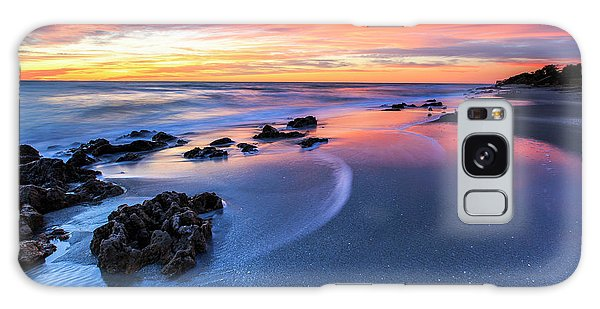 Florida Beach Sunset 4 Galaxy Case