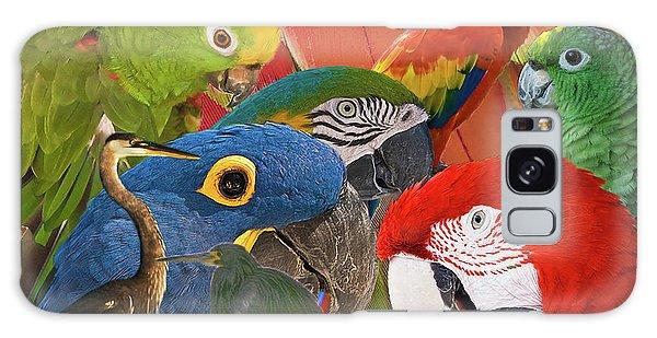 Florida Birds Galaxy Case