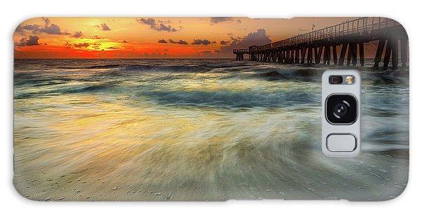 Atlantic Ocean Galaxy Case - Florida Breeze by Edgars Erglis