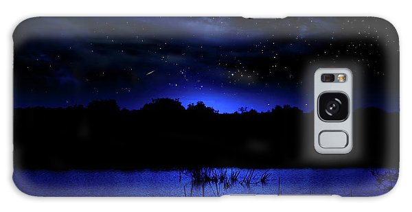 Florida Everglades Lunar Eclipse Galaxy Case by Mark Andrew Thomas