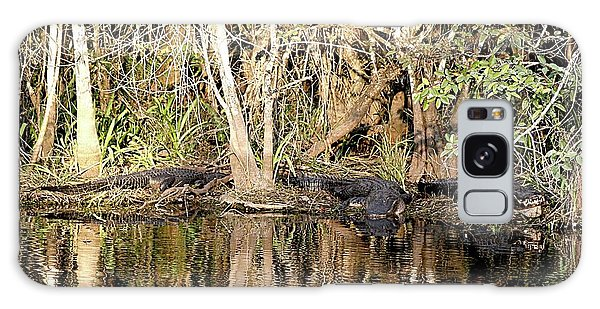 Florida Gators - Everglades Swamp Galaxy Case by Jerry Battle