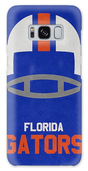 March Galaxy Case - Florida Gators Vintage Football Art by Joe Hamilton