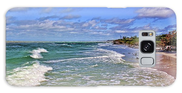 Florida Gulf Coast Beaches Galaxy Case by HH Photography of Florida