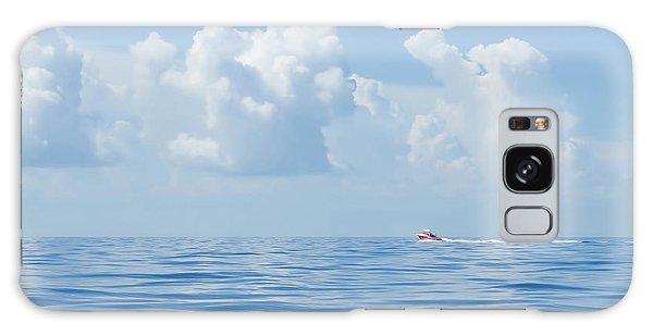 Florida Keys Clouds And Ocean Galaxy Case